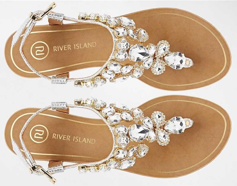 sandales bijoux de River Island